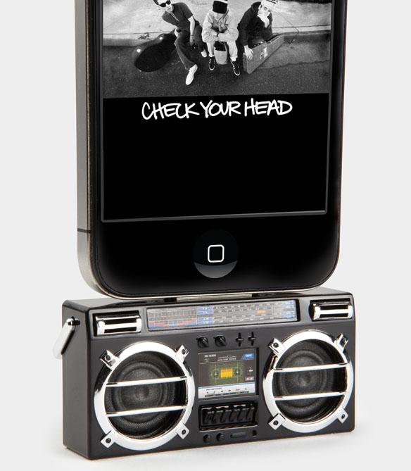 Mini Boombox MP3 iPod Speaker