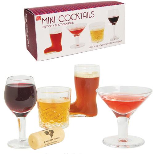 Mini Cocktails Shot Glasses