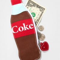 Mini Coke Bottle Change Purse