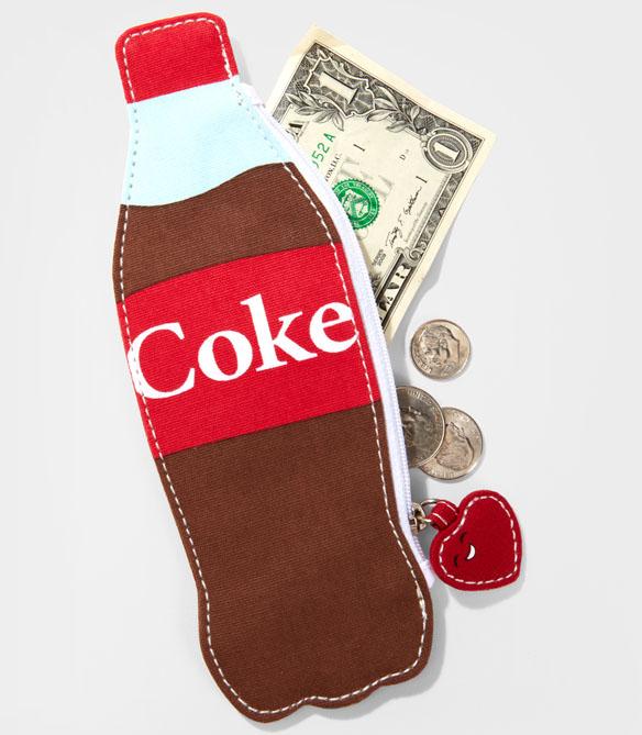 Mini Coke Bottle Change Purse
