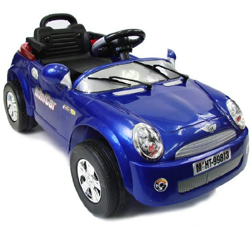 Mini Cooper Electric Ride-On with RC