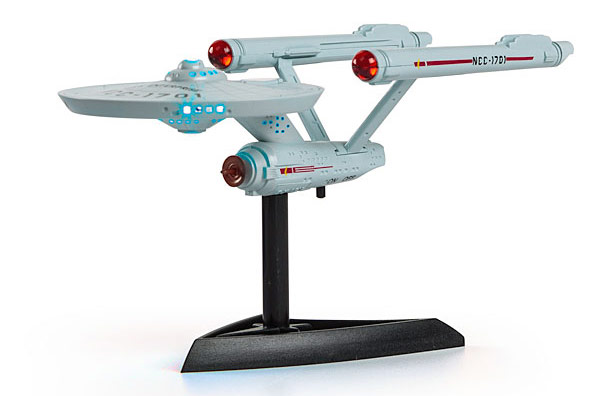 Mini Light Up Star Trek Enterprise