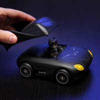 Mini Mez-Itz Batmobile and Batman