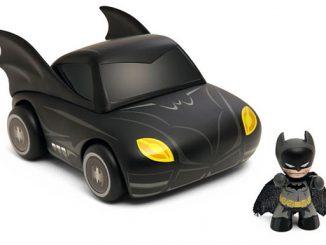 Mini Mez-Itz Batmobile with Batman