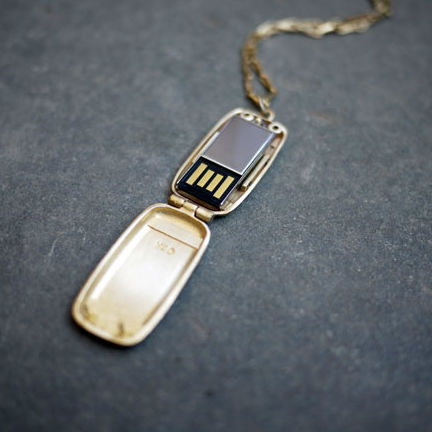 Mini USB Locket
