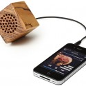 Mini Wooden iPhone Speaker