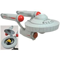 Minimates Starship Enterprise with Captain Kirk