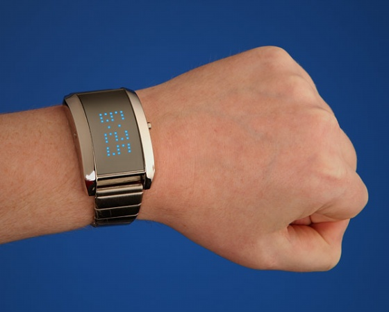 Mirror Universe LED Digital Watch