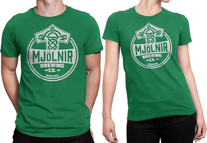 Mjolnir Brewing Company T-Shirts