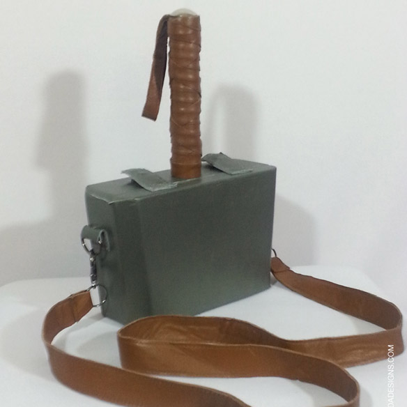 Mjolnir Cigar Box Thor Purse