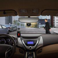 Mobileye Pedestrian Detection on PDA