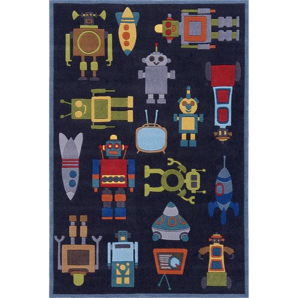 Momeni Lil Mo Whimsy Robot Rug
