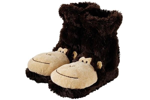 Monkey - Fun for Feet Slipper Socks