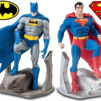 Monogram Batman and Superman Bookends