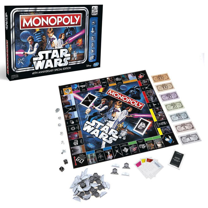 Monopoly 40th Anniversary Edition Star Wars Game