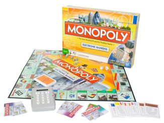 Monopoly Banking Board Game