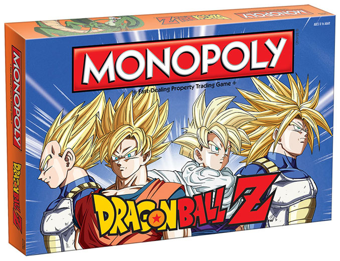 Monopoly Dragonball Z Edition Game
