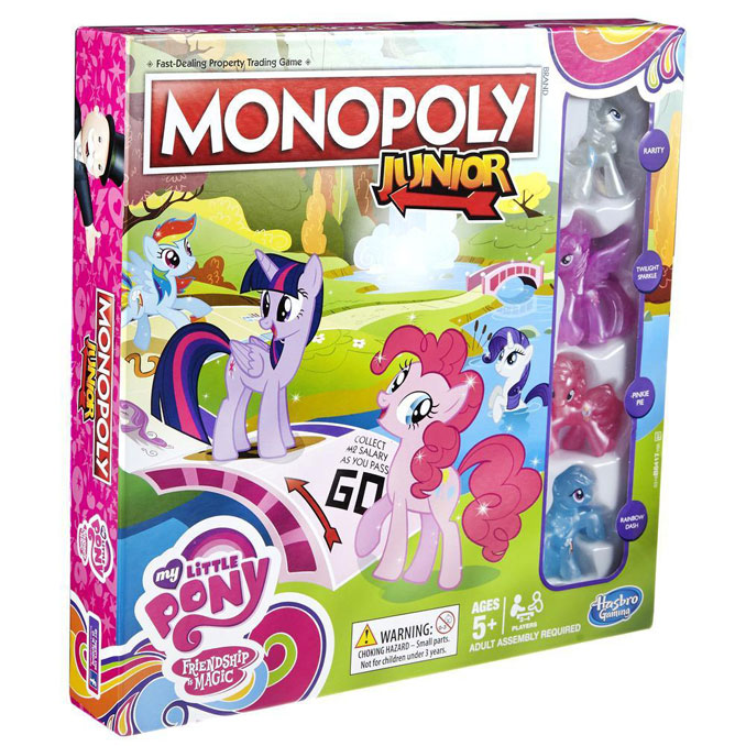 Monopoly Junior My Little Pony Game