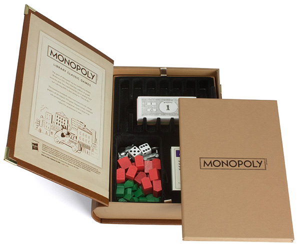 Monopoly Library Classic Edition