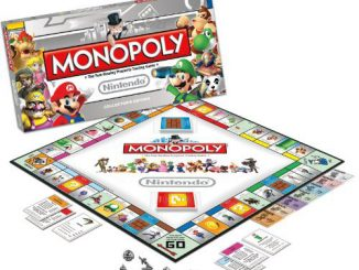 Monopoly Nintendo Board Game