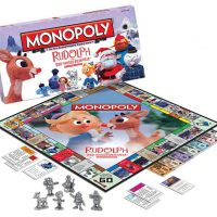 Monopoly Rudolph the Red Nosed Reindeer Collectors Edition