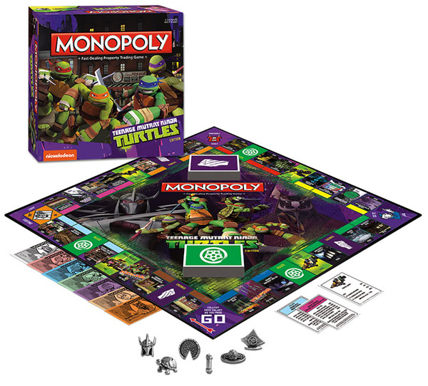 Monopoly Teenage Mutant Ninja Turtles Edition