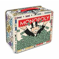 Monopoly Tin Lunch Box Bank