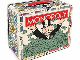 Monopoly Tin Lunch Box Bank