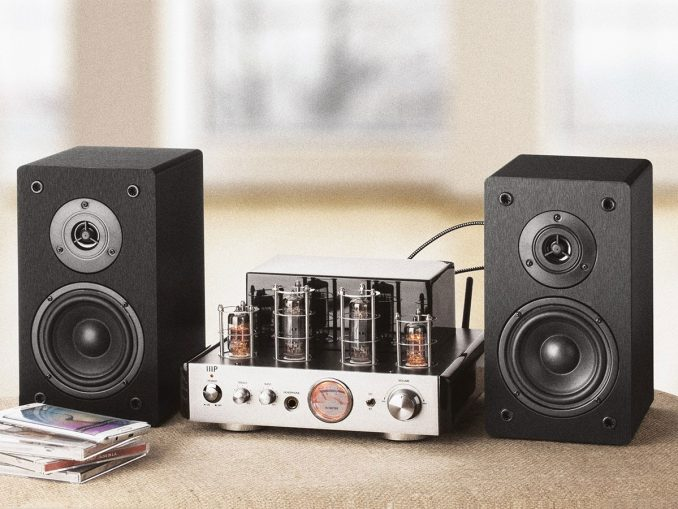 Monoprice Stereo Hybrid Tube Amplifier With Speakers