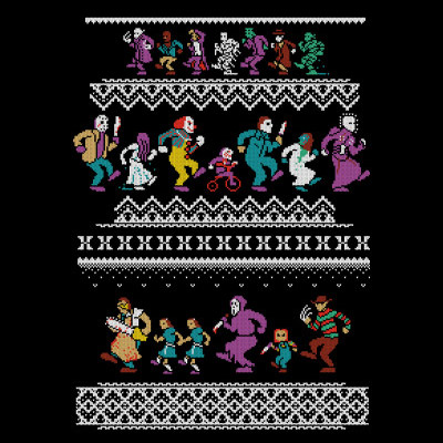 Monster Holiday Sweater T-Shirt - Gadget Lovers