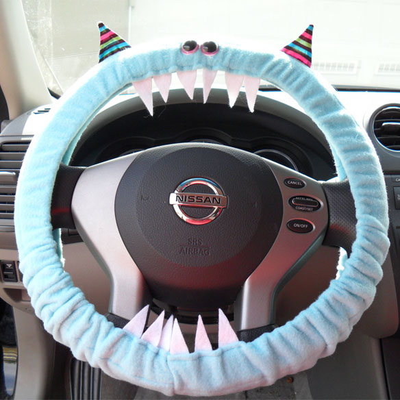 monster steering wheel cover - Nightmare Before Christmas Steering Wheel Cover