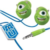 Monsters U Mike Wazowski Scare and Wear Earbuds