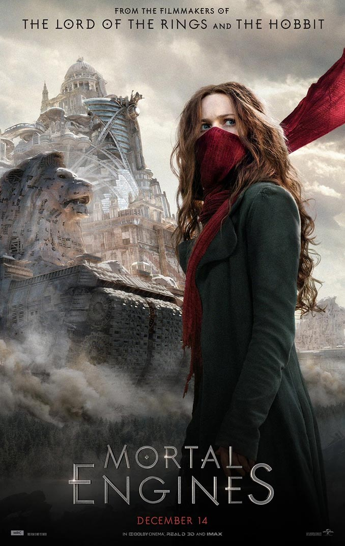 Mortal Engines Hera Hilmar Poster