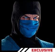 Sub Zero Mortal Kombat Face