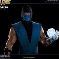 Mortal Kombat Klassic Sub-Zero Statue front