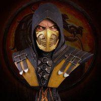 Mortal Kombat Scorpion Life-Size Bust_small