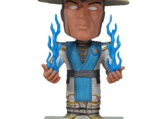 Mortal Kombat Wacky Wobbler Bobble Head Raiden