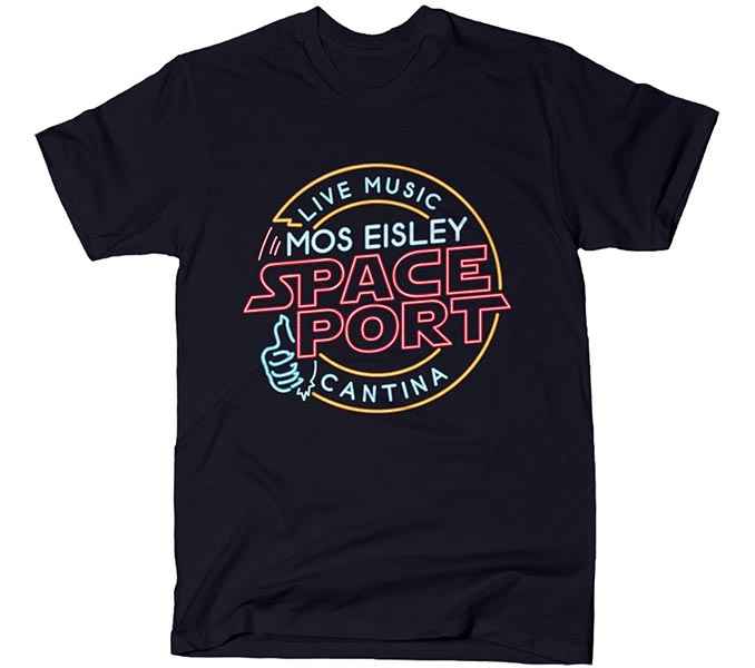 Mos Eisley Space Port T-Shirt