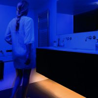 Motion Activated Ambient LED Bed Lighting