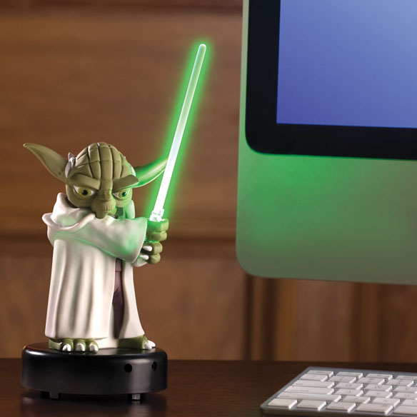 Motion Activated Talking Yoda Sentry