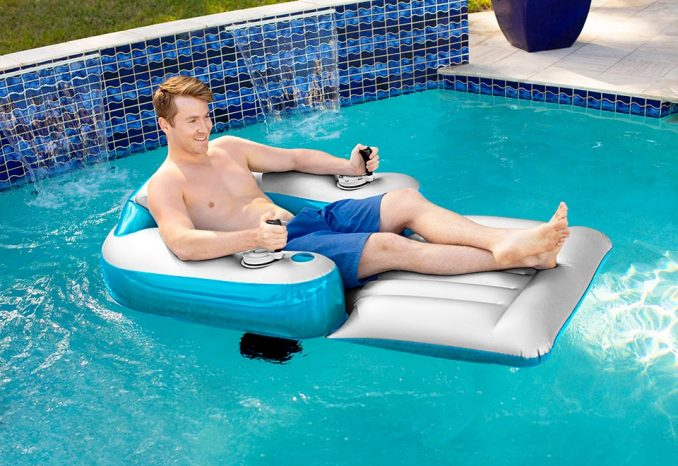 Motorized Pool Lounger