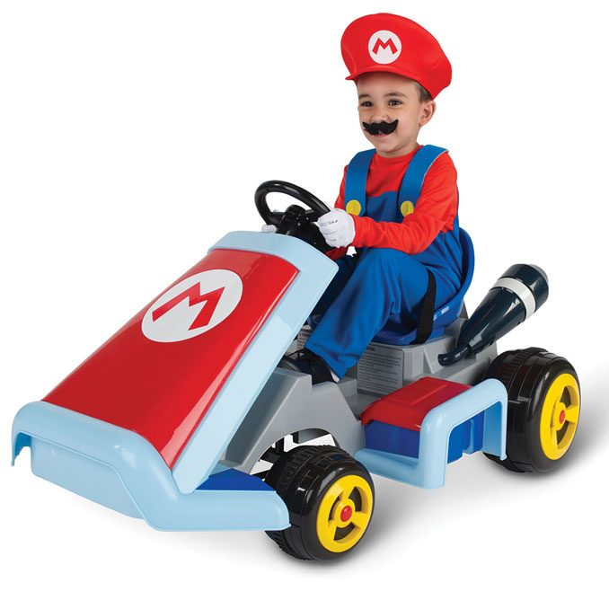 Motorized Ride On Nintendo Mario Kart