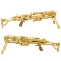 Motorized Rubber Band Guns