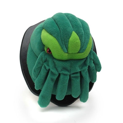 Mounted Cthulhu Plush Wall Trophy