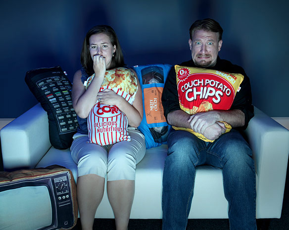 Movie Night Movie Themed Accent Pillows