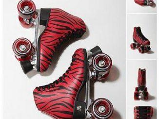 Moxi Zebra Roller Skates