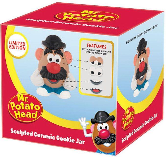 Mr Potato Head Ceramic Cookie Jar Box