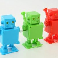 Mr Roboto USB Hub Wind Up Action Figure