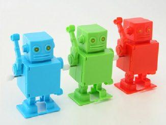 Mr Roboto USB Hub Wind Up Action Figure