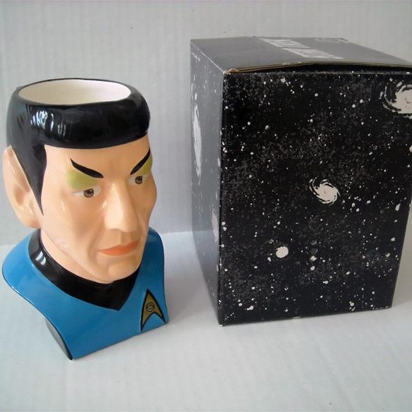 Mr Spock Figural Mug